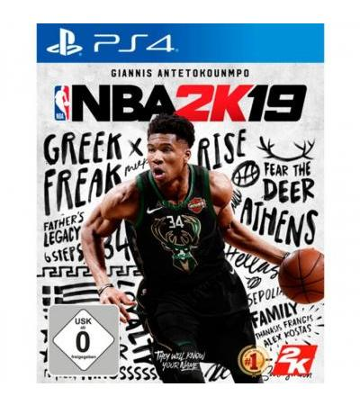 2K Games NBA 2k19, PlayStation 4-Spiel