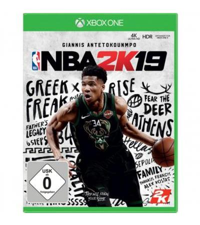 2K Games NBA 2k19, Xbox One-Spiel