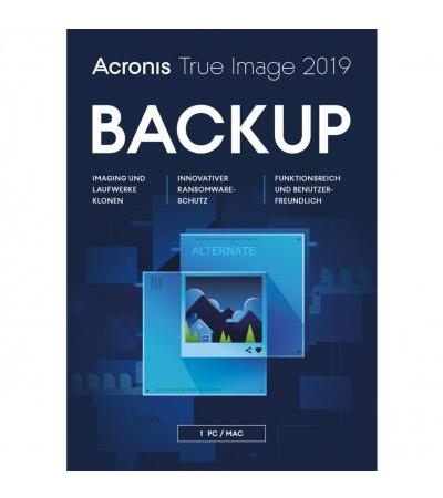 Acronis True Image 2019 , Datensicherung-Software