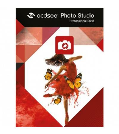 Avanquest ACDSee Photo Studio 2018 Professional, Grafik-Software