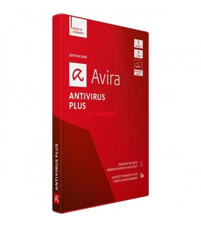 Avira AntiVirus Plus 2018 , Sicherheit-Software
