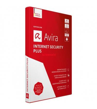 Avira Internet Security Plus 2018, Sicherheit-Software