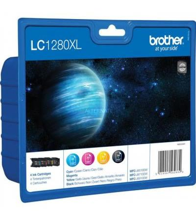 Brother Tinte Valuepack LC1280XL(Retail)