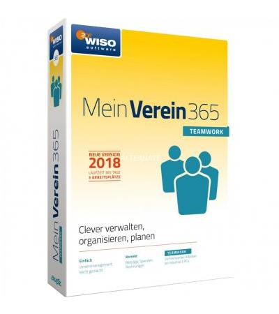 Buhl Data WISO Mein Verein 365 Teamwork DE, Finanz-Software
