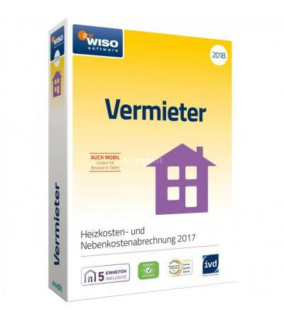 Buhl Data WISO Vermieter 2018, Finanz-Software