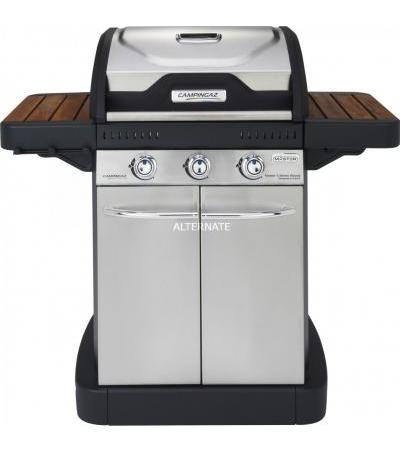 Campingaz Master 3 Series Woody, Grill(schwarz/silber)