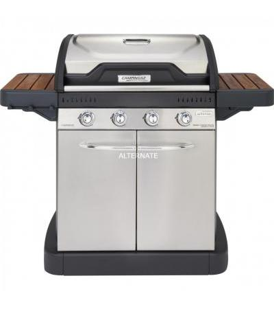Campingaz Master 4 Series Woody, Grill(schwarz/silber)