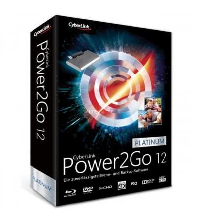 CyberLink Power2Go 12 Platinum, Datensicherung-Software