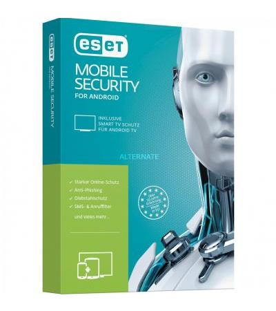 ESET Mobile Security & Antivirus, Sicherheit-Software(1 Jahr, Mini-Box)