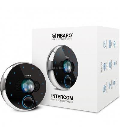 Fibaro Intercom, Türsprechanlage(schwarz/silber, Videogegensprechanlage, Bluetooth Low Energie 4.0)
