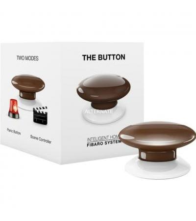 Fibaro The Button, Schalter(braun)