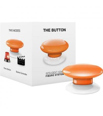 Fibaro The Button, Schalter(orange)