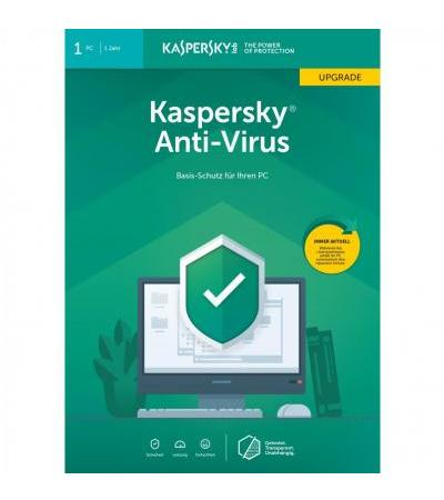 Kaspersky Anti-Virus, Sicherheit-Software(1 Jahr, Frustfrei)