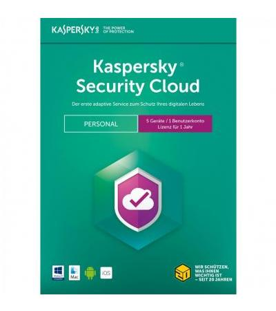 Kaspersky Security Cloud, Sicherheit-Software(1 Jahr)