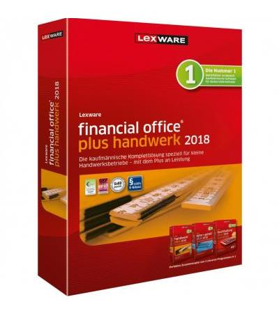Lexware Financial Office Plus Handwerk 2018 , Finanz-Software