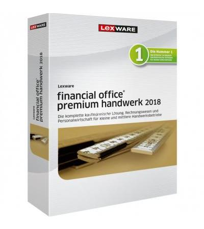Lexware Financial Office Premium Handwerk 2018, Finanz-Software