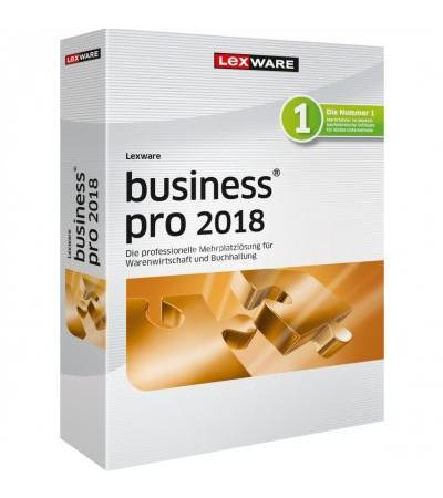 Lexware Lexw Business Pro 2018 DE, Finanz-Software