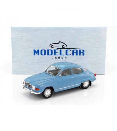 Modelcar Group Saab 96 V4 blau 1:18 Model Car Group, Modellfahrzeug(blau)