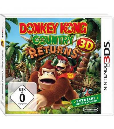 Nintendo Donkey Kong Country Returns, Nintendo 3DS-Spiel