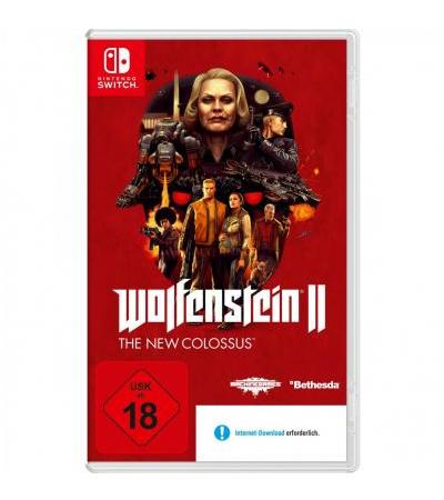 Nintendo Wolfenstein 2: The New Colossus, Nintendo Switch-Spiel