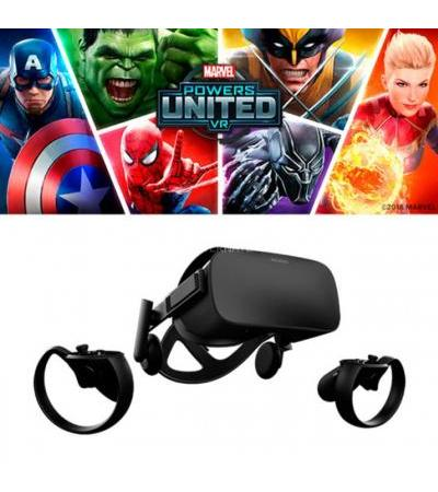 Oculus Rift - Special Edition, VR-Brille(schwarz, inkl. Oculus Touch + Marvel Powers United VR, Limited Edition)