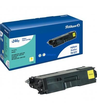 Pelikan Toner gelb 4236838(kompatibel zu Brother TN-321Y)