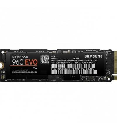 Samsung 960 EVO 1 TB, Solid State Drive(M.2, PCIe 3.0 x4)