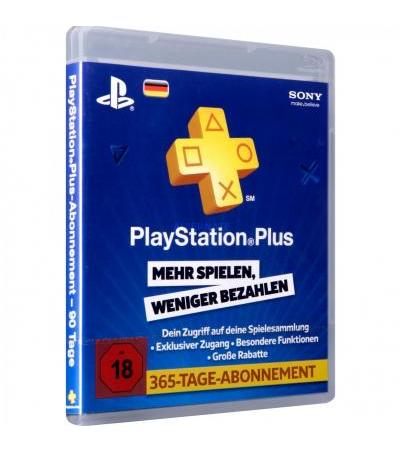 Sony PSN Live Card 365 Tage, Gamecard