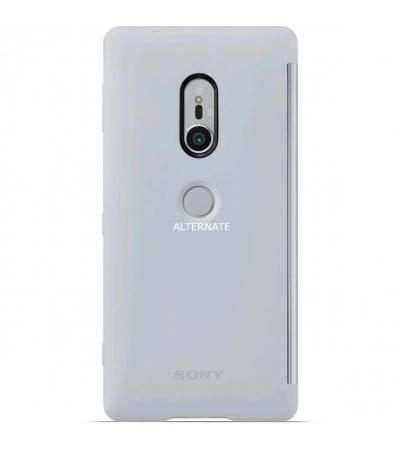 Sony Style Cover View Touch SCTH40, Schutzhülle(grau, Sony Xperia XZ2)