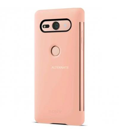 Sony Style Cover View Touch SCTH50, Schutzhülle(pink, Sony Xperia XZ2 Compact)